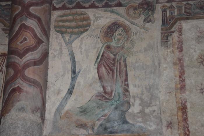Journées du patrimoine 2019 - Visite guidée : les peintures murales de l'église du Vieux-Pouzauges, un joyau de l'art roman