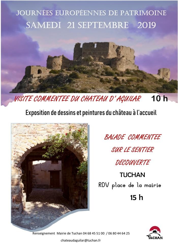 Journées du patrimoine 2019 - Visite guidée du patrimoine de Tuchan