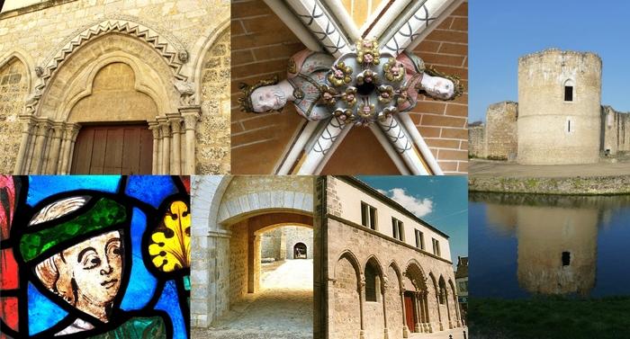 Journées du patrimoine 2020 - Circuit 3 monuments