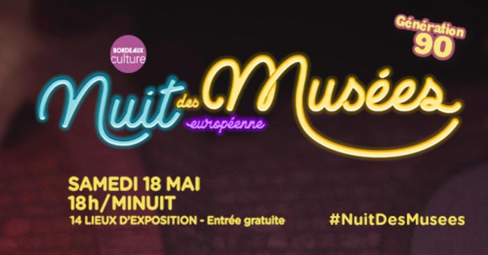 Nuit des musées 2019 -Génération 90 !  HIT MUSEUM