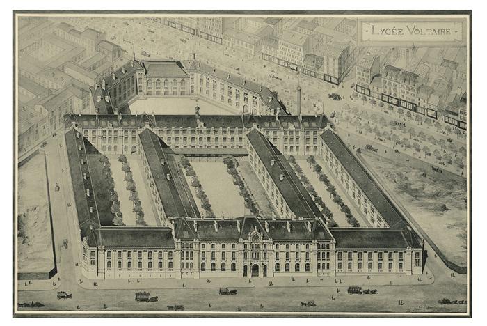 Journées du patrimoine 2020 - Visite guidée et historique du lycée Voltaire