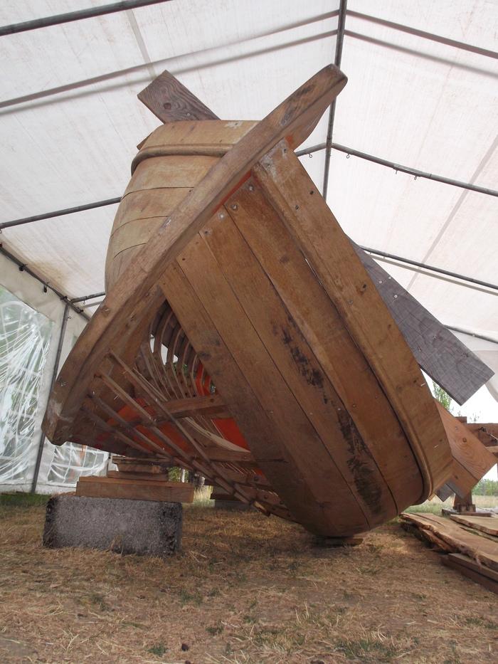 Journées du patrimoine 2020 - Visite du chantier du canot de l'Hermione