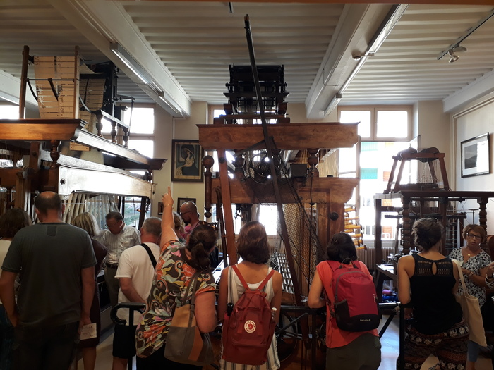 Journées du patrimoine 2019 - Soierie Vivante : visite de l'atelier municipal de passementerie