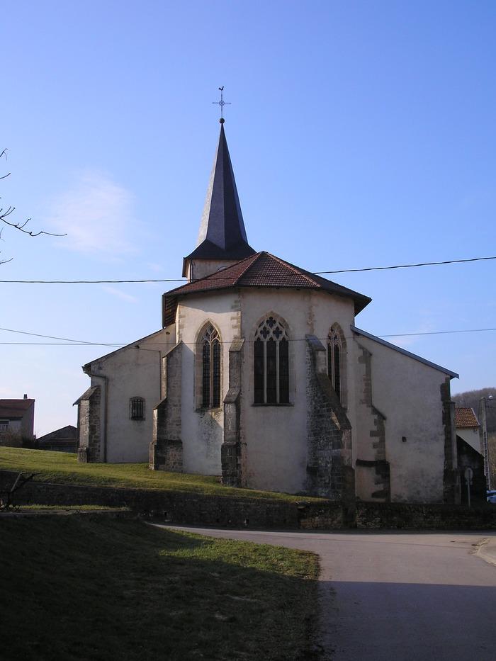 Journées du patrimoine 2020 - VIsite libre de l'église de Domjulien