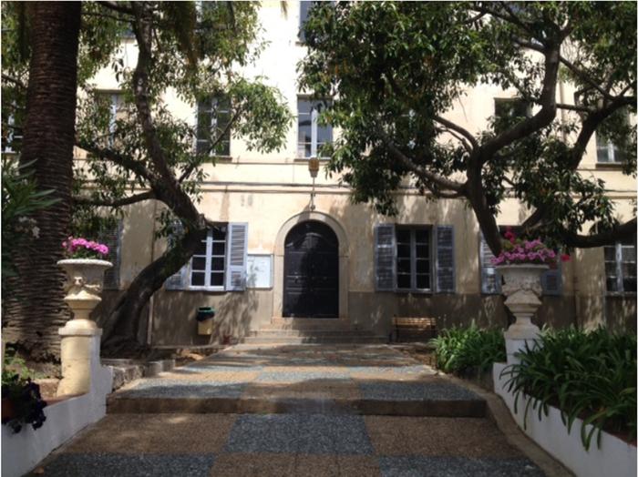 Journées du patrimoine 2019 - Visite de l'Institut National Supérieur du Professorat et de l'Éducation de l'Université de Corse à Aiacciu.