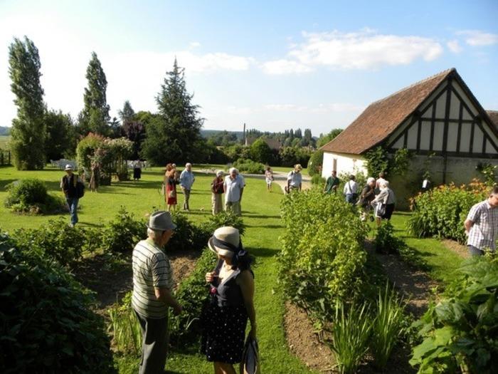 Journées du patrimoine 2019 - Visite du Jardin des Arts avec sa grange à colombages du XVIIe siècle