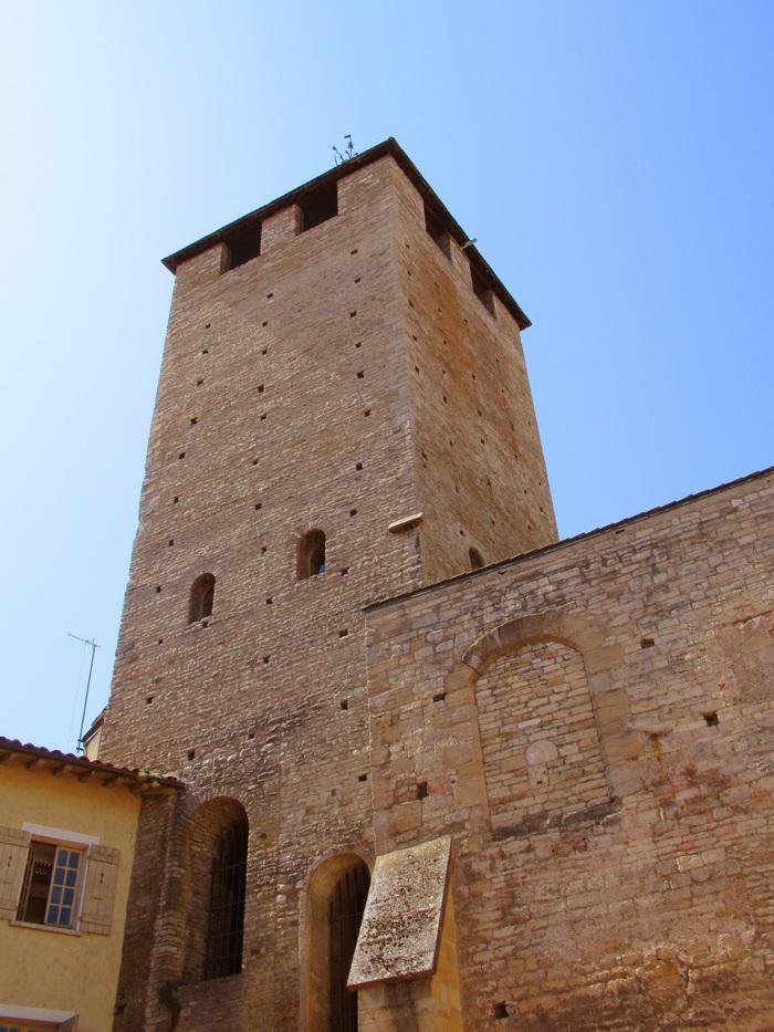 Journées du patrimoine 2020 - Extraordinaire panorama sur la cité-abbaye depuis la Tour des Fromages