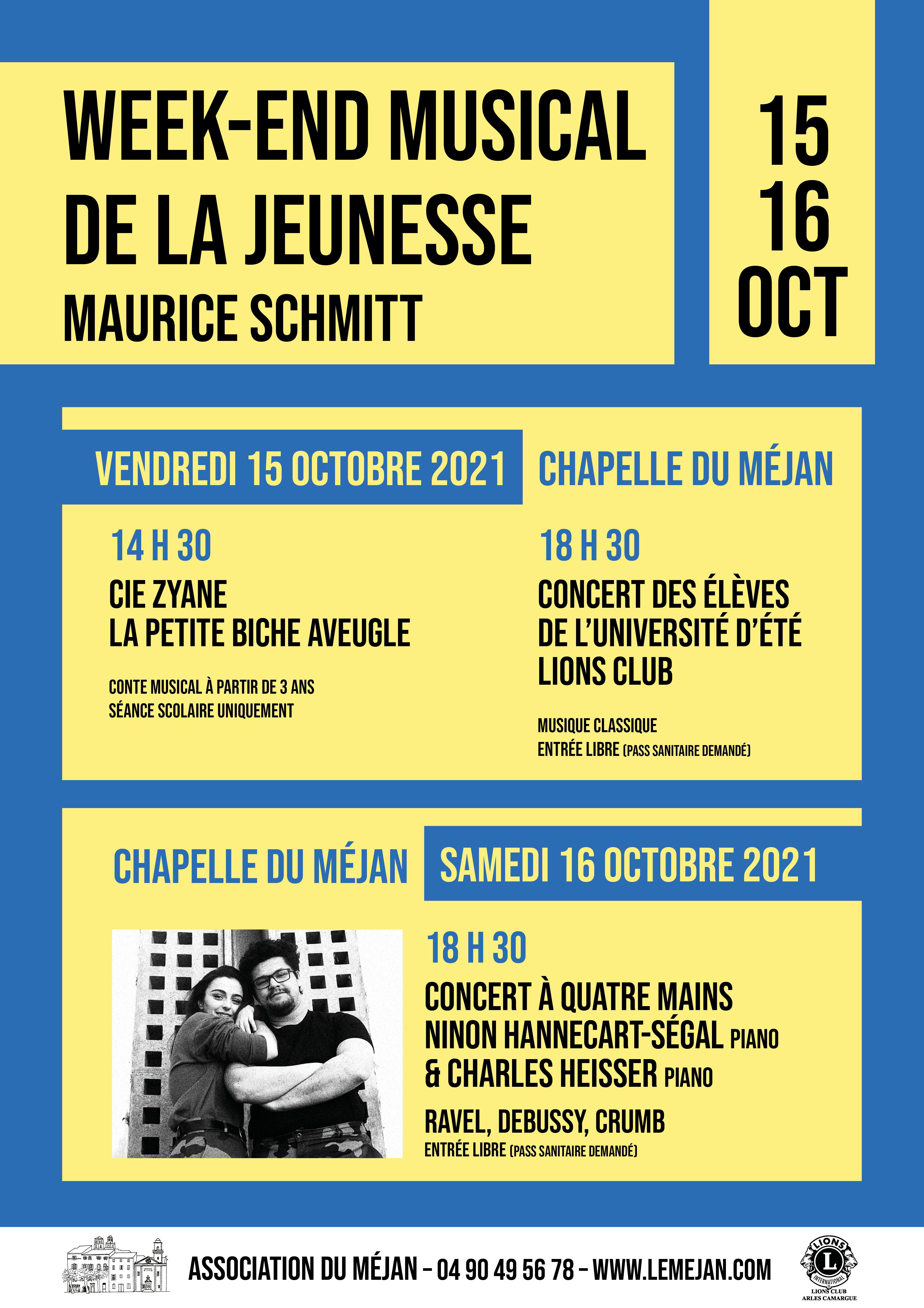 Le Lions Club d'Arles investit la chapelle du Méjan avec ce week-end musical co-organisé avec l'Association du Méjan. Au programme : 3 concerts pour les grands et les petits.