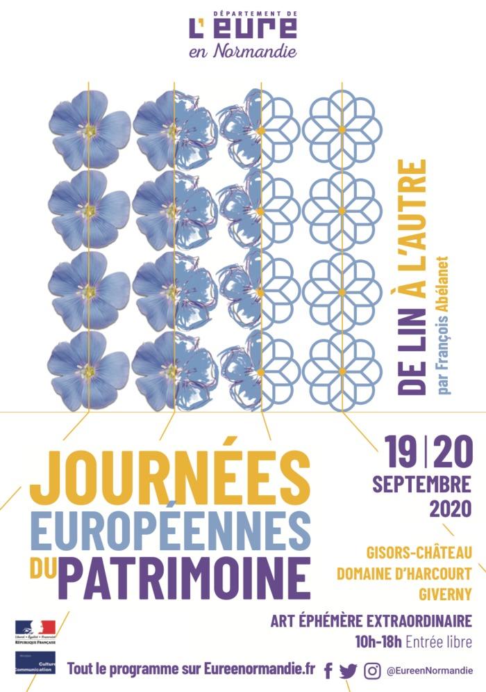 Journées du patrimoine 2020 - Savoir-faire : de lin à l'autre - Art éphémère extraordinaire par François Abélanet