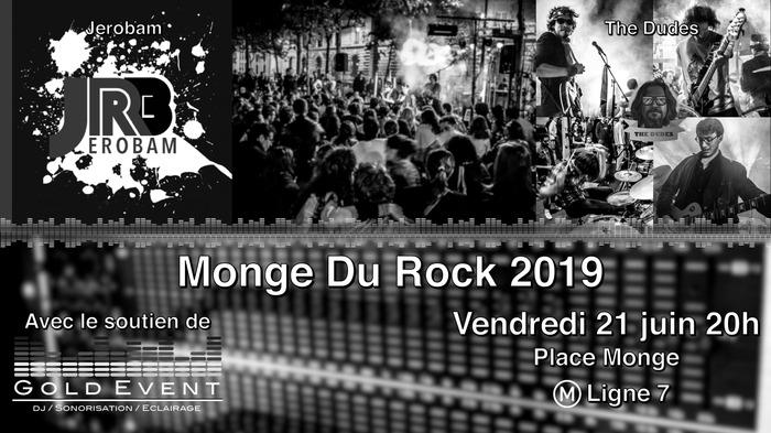 Fête de la musique 2019 - Monge du Rock 2019