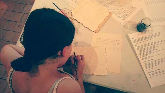 Journées du patrimoine 2019 - Atelier d'écriture à la plume