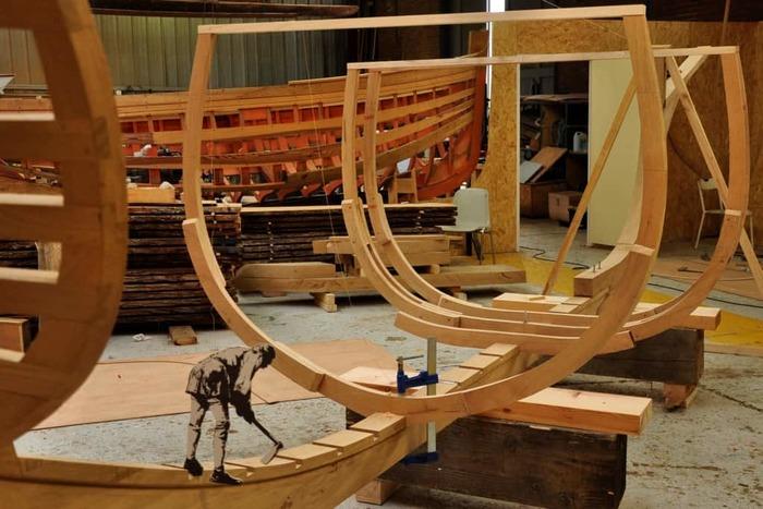 Journées du patrimoine 2020 - Atelier de restauration navale