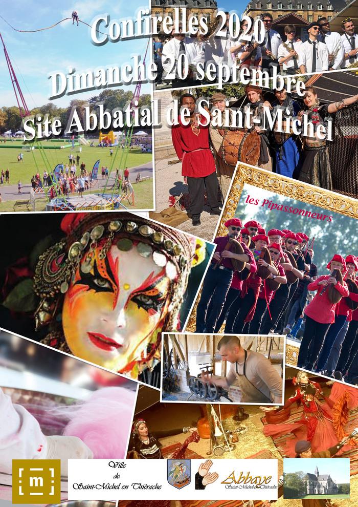 Journées du patrimoine 2020 - Site abbatial de Saint-Michel en Thièrache
