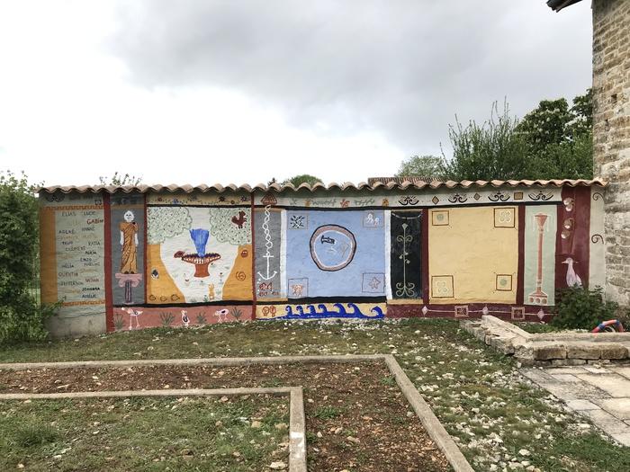 Journées du patrimoine 2019 - Atelier fresque à