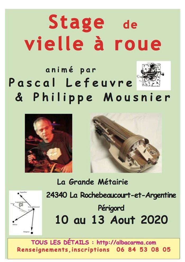 Stage - Vielle à roue