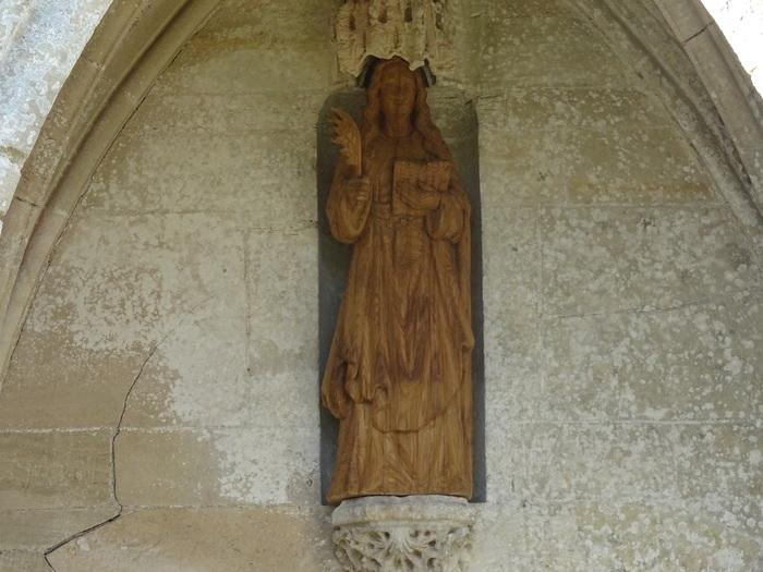 Journées du patrimoine 2020 - Visite libre de l'église et commentée de ses statues