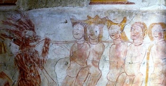 Journées du patrimoine 2019 - Visite commentée de la chapelle et de ses peintures murales