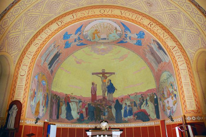 Journées du patrimoine 2019 - Visite de la chapelle du Sacré-Coeur
