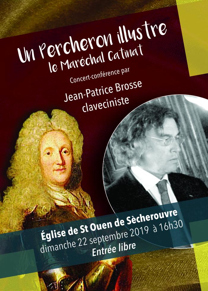 Journées du patrimoine 2019 - Concert-conférence  - Clavecin, Maréchal Catinat