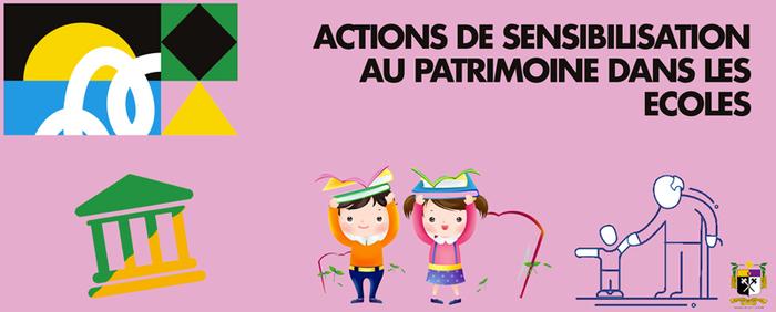 Journées du patrimoine 2019 - Actions de sensibilisation au patrimoine par l'association PASREL