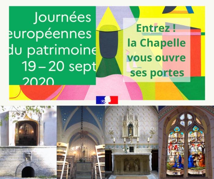 Journées du patrimoine 2020 - Visite de la Chapelle Notre-Dame de Vers