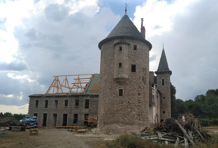Journées du patrimoine 2020 - Visite : la réhabilitation du château après 9 siècles d'histoire collective usselloise
