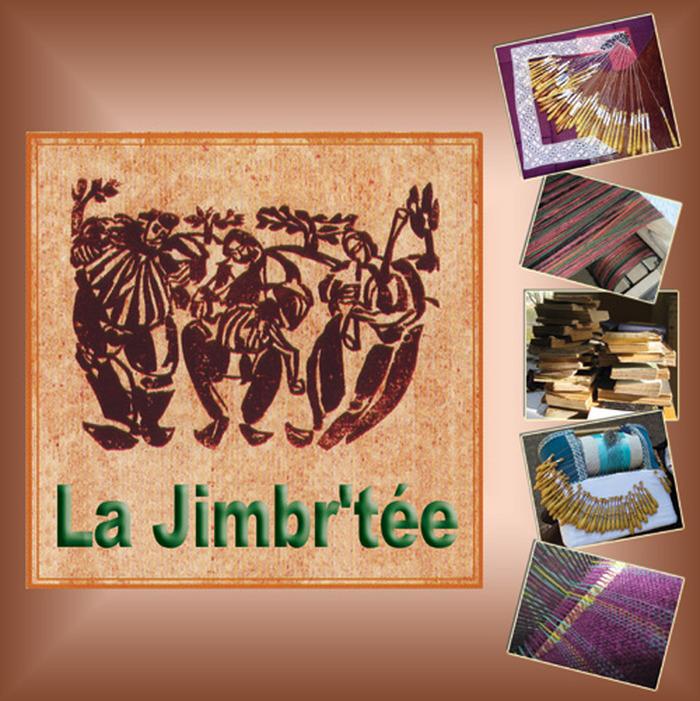 Journées du patrimoine 2019 - Ateliers tissage, dentelle et reliure de La Jimbr'tée.