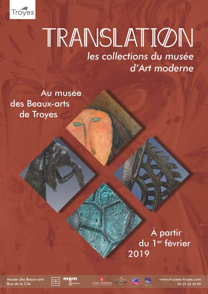 Journées du patrimoine 2020 - Exposition « Translation, collections du musée d'Art moderne »