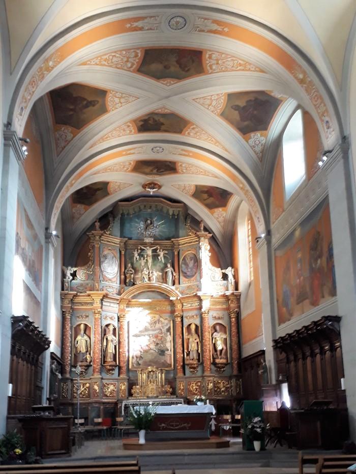 Journées du patrimoine 2020 - Visite guidée du retable de l'église St Maurice