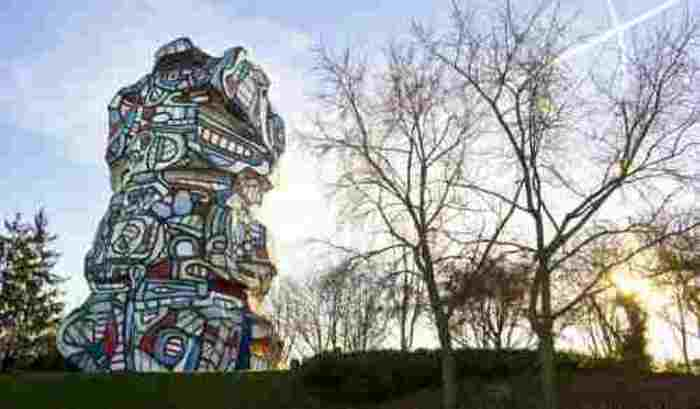 Journées du patrimoine 2020 - Visite guidée de la Tour aux figures de Jean Dubuffet et atelier d'art plastique en famille