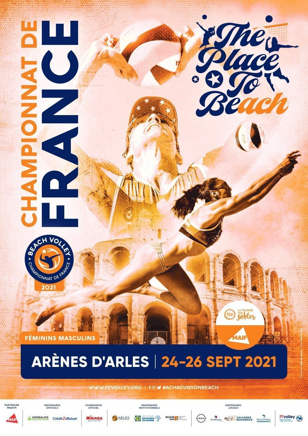 Arles accueille les qualifications et les finales du championnat de France de beach volley