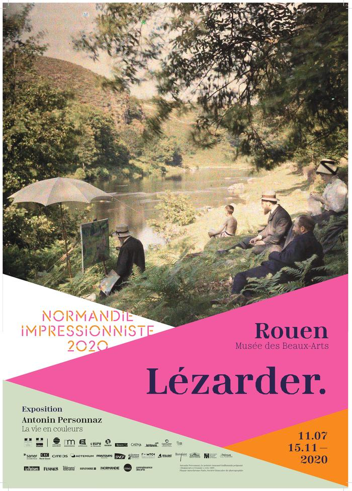 Journées du patrimoine 2020 - Exposition : Antonin Personnaz, la vie en couleurs - Festival Normandie Impressionniste