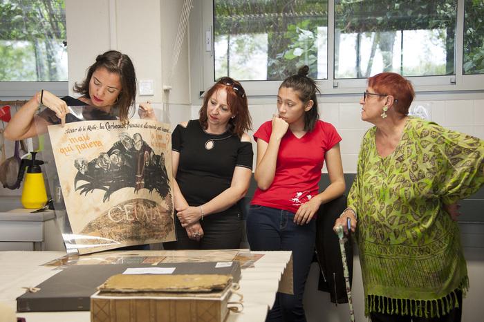Journées du patrimoine 2020 - Visite guidée de l'atelier de restauration