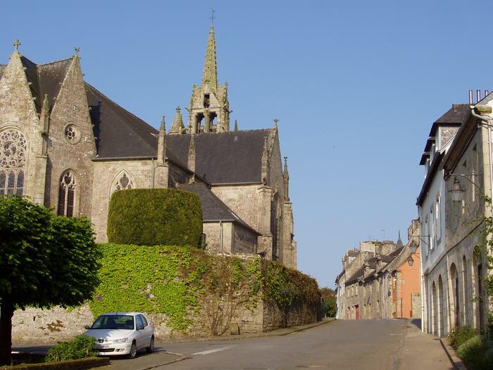 Journées du patrimoine 2020 - Visite libre de l'église Saint Ténénan, Guerlesquin.