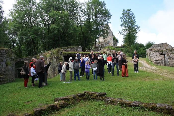 Journées du patrimoine 2020 - Visites commentées au château de Montfaucon
