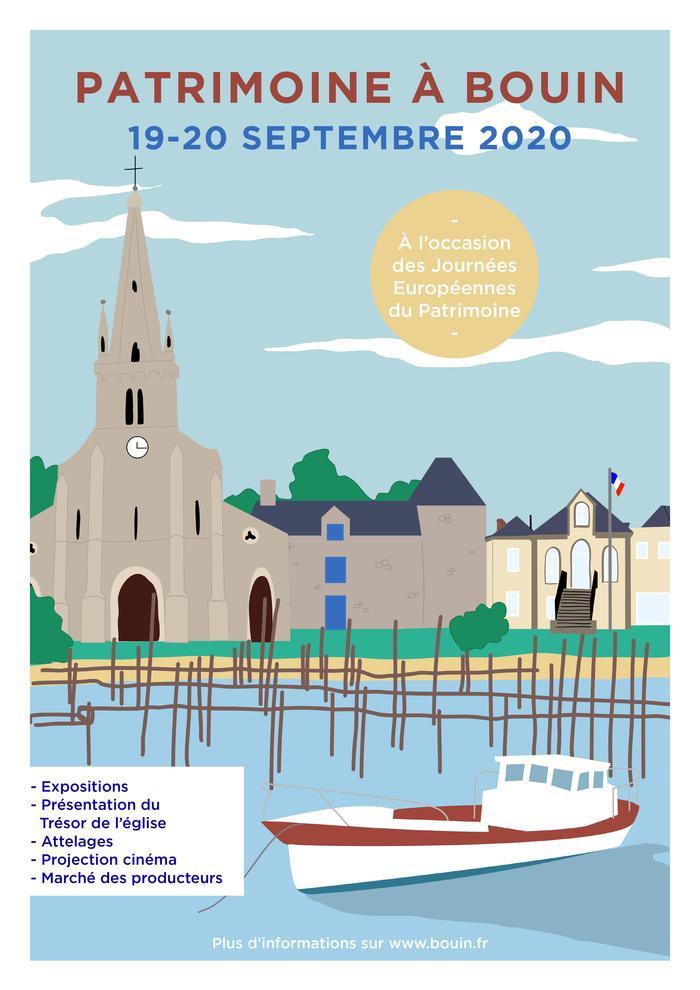 Journées du patrimoine 2020 - Patrimoine à Bouin