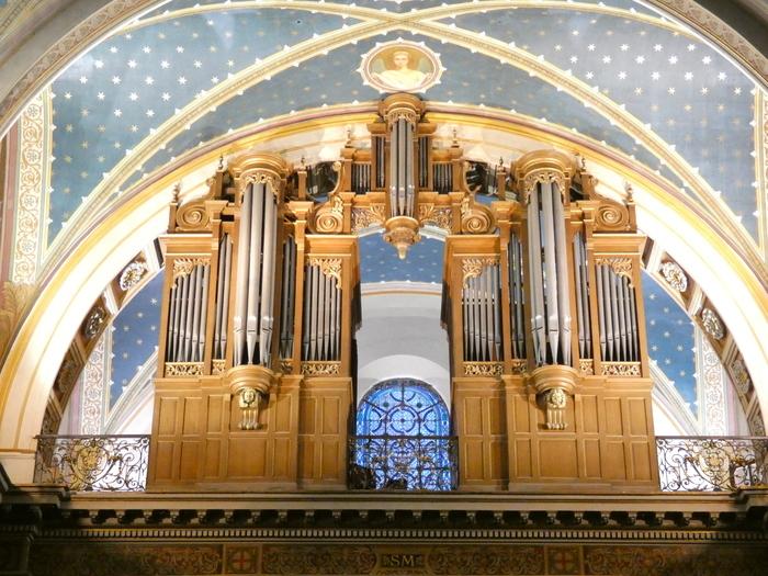 Visite guidée de l'orgue.