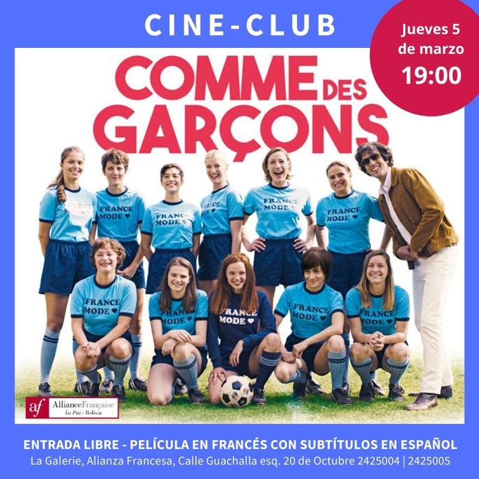 """Projection du film """" Comme des garçons """" de Julien Hallard (2018)"""