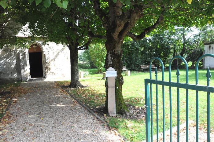 Journées du patrimoine 2019 - Visite de la chapelle de Pontmoulin