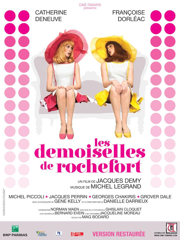 Projection des Demoiselles de Rochefort, précédé d'un court-métrage Miyu Productions