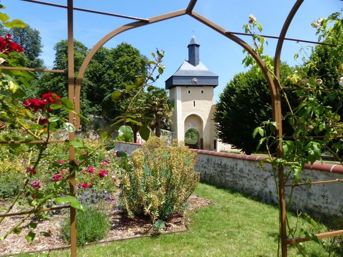 Journées du patrimoine 2020 - Visite libre de la roseraie du château