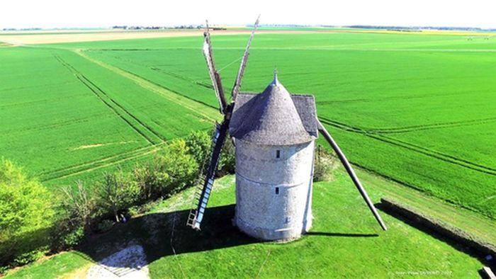 Journées du patrimoine 2019 - Visite commentée d'un moulin en Beauce dunoise