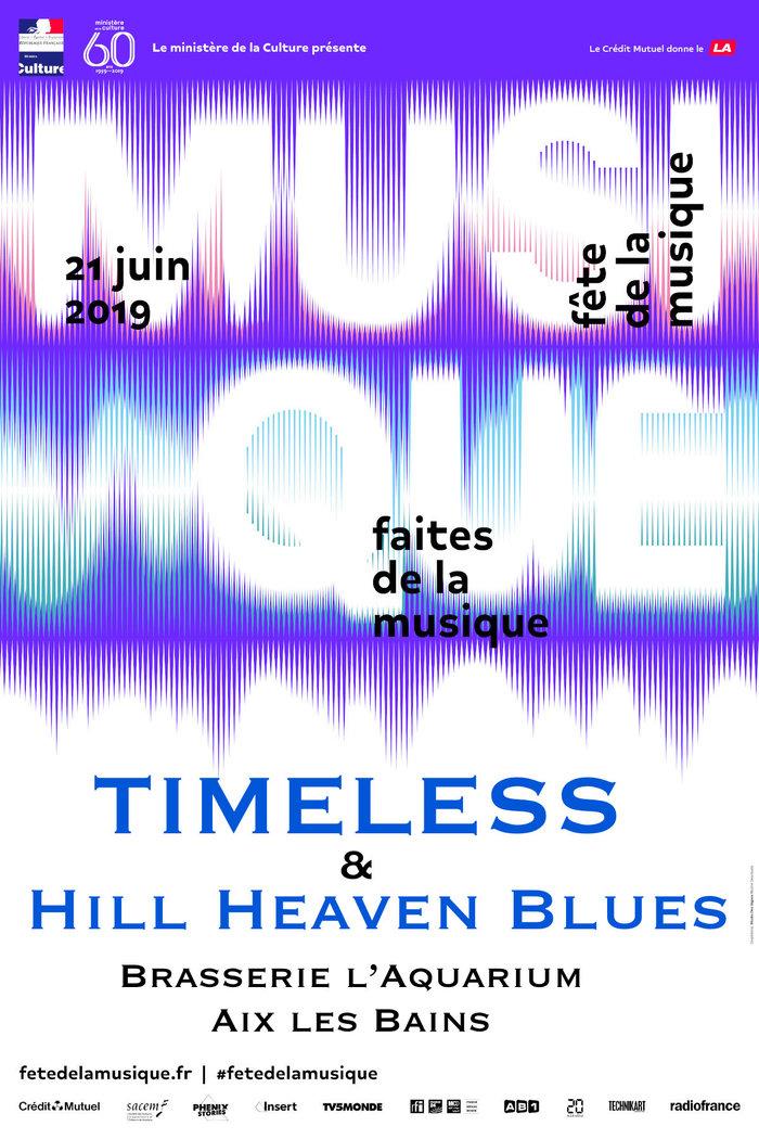 Fête de la musique 2019 - Timeless & Hill Heaven Blues