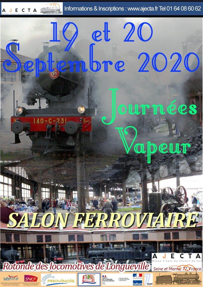 Journées du patrimoine 2020 - Journées Vapeur AJECTA - Salon Ferroviaire