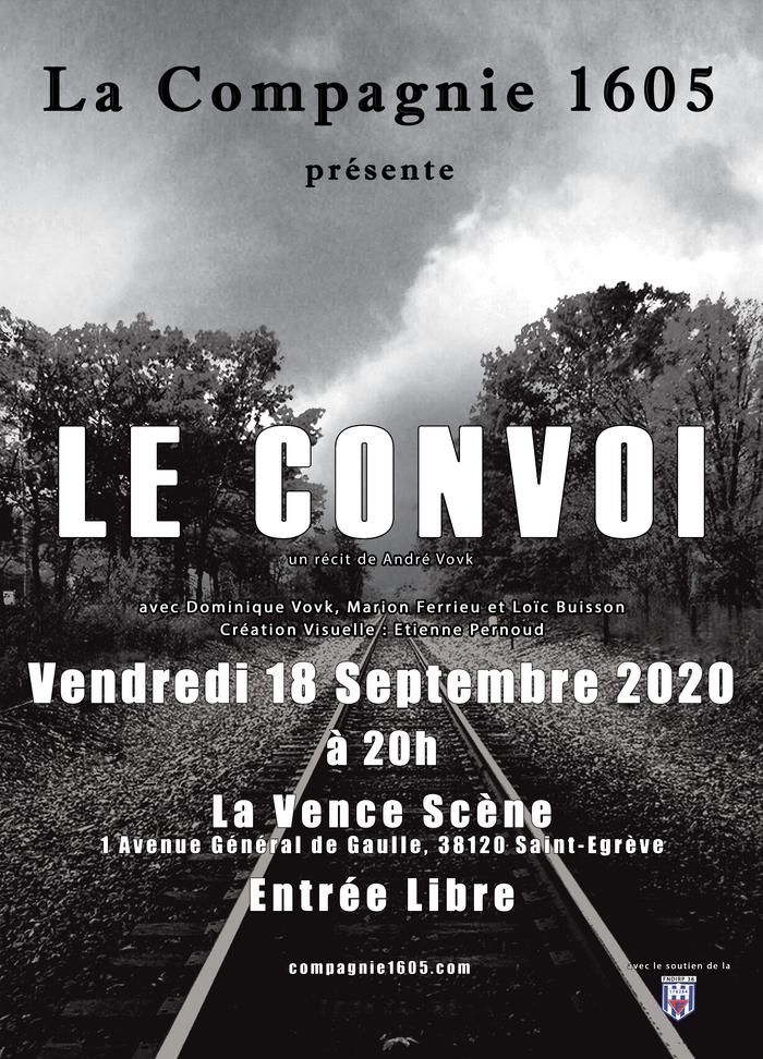 Journées du patrimoine 2020 - Spectacle « Le convoi » par La compagnie 1605