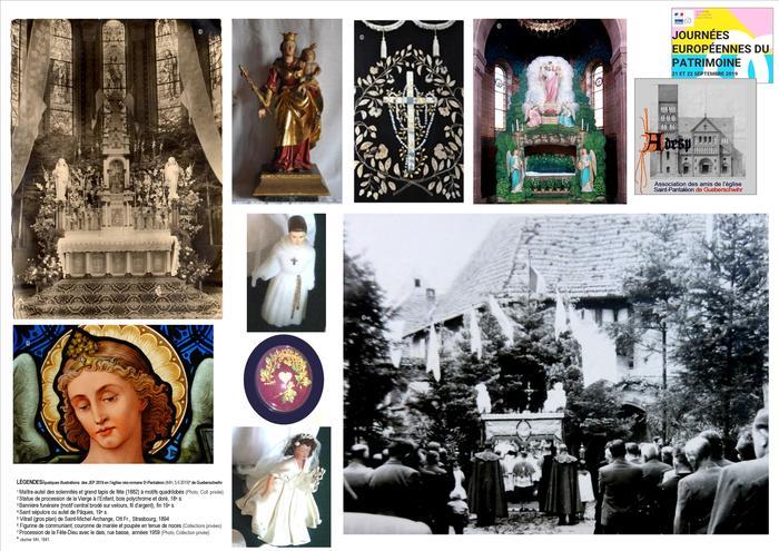 Journées du patrimoine 2019 - Église Saint-Pantaléon de Gueberschwihr : Joie et solennités, rites et symboles…