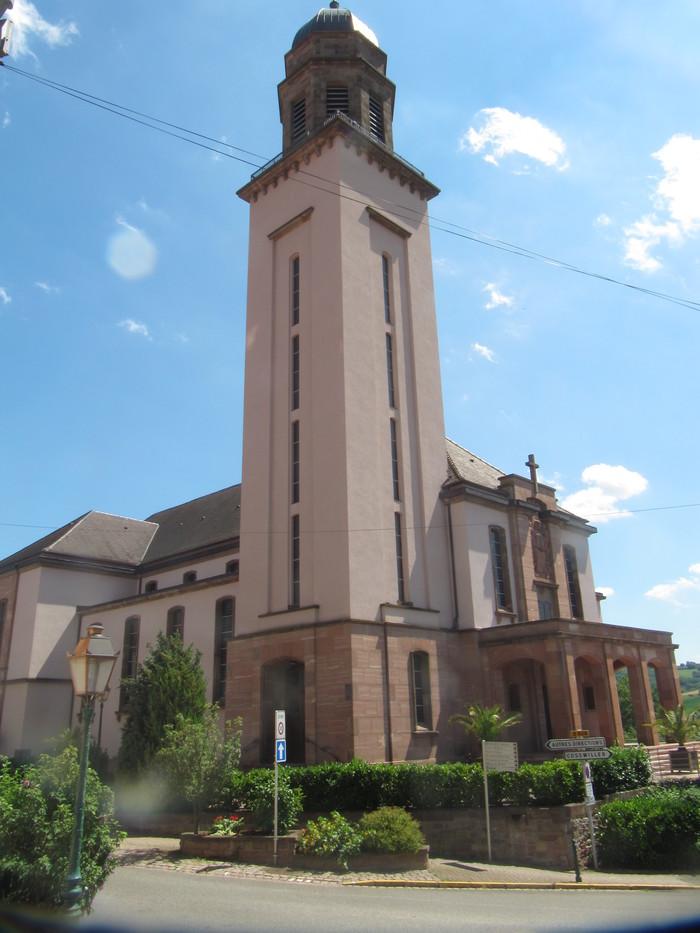 Journées du patrimoine 2020 - Visite libre de l'église catholique Saint-Jean-Bosco de Wasselonne