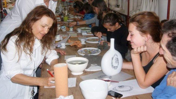Journées du patrimoine 2019 - Atelier de décor sur porcelaine