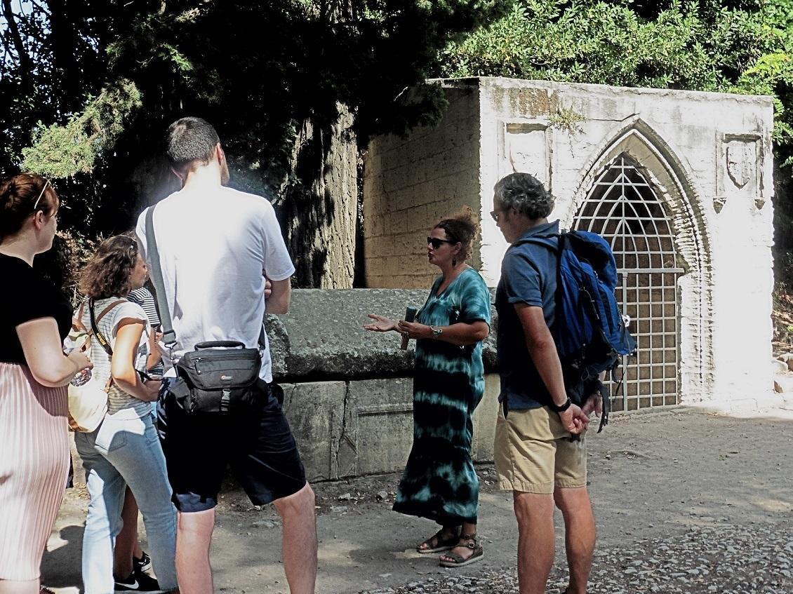 30 min de visite guidée pour connaître les monuments d'Arles : les Alyscamps (nécropole antique et médiévale, église romane)