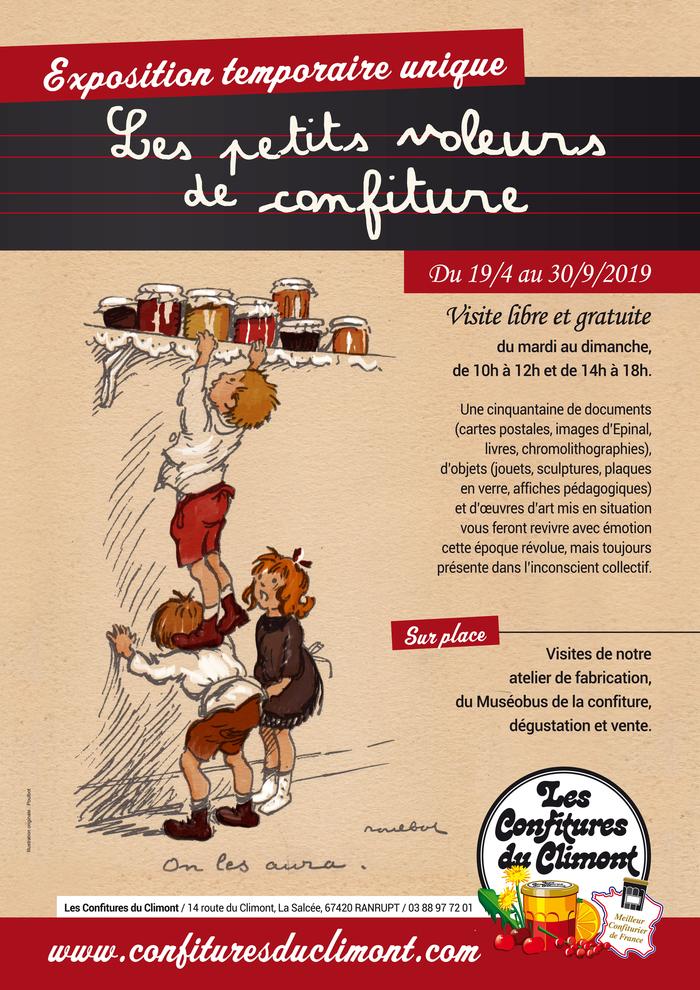 Journées du patrimoine 2019 - Exposition temporaire Les petits voleurs de confiture